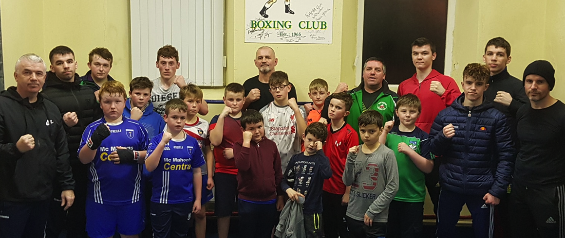 The Old School Boxing Club in Smithborough outside Clones