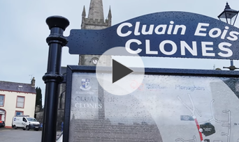 Walk Around Clones on a Winter Day