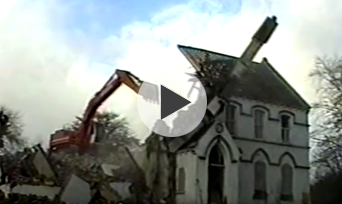 Demolition of St Louis Convent