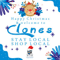 Shop local in Clones